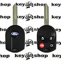 Корпус авто ключа для Ford (Форд),4 кнопки с лезвием FO38R