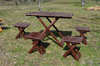 Стол для пикника, 4 стула