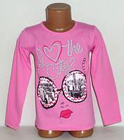 """Кофта """"Очки"""" на девочкуоптом 4 года 100% хлопок.Детская одежда оптом"""