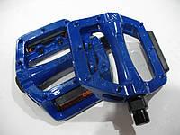 Педаль алюминиевая, модель 305, 9/16 цвет: синий, красный, FPД Тайвань