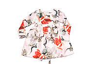 Платье Детское  « Зимняя сакура  » пышный   . Состав : Жаккард, фото 1