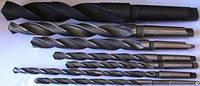 Сверла спиральные с коническим хвостовиком