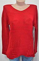 Женский стильный свитер вязка
