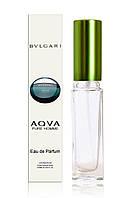Мужской мини-парфюм Bvlgari Aqua Pour Homme (Булгари Аква пур Хоум) в стеклянном флаконе, 20 мл