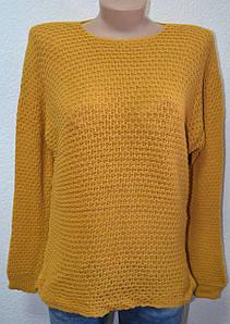 Женский свитер однотонный