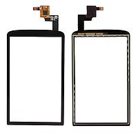 Оригинальный тачскрин / сенсор (сенсорное стекло) для ZTE Skate V960 (черный цвет)