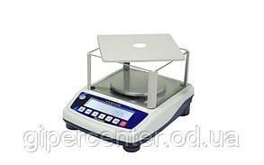 Весы лабораторные СВА-600-0,01, до 600 г, точность 0,01 г (круглая платформа)