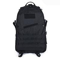 Тактический рюкзак походный черного цвета