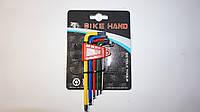Набор ключей шестигранников BIKE HAND модель. 613-6C Тайвань