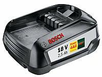 """Аккумулятор """"Bosch"""", для зеленого и садового инструмента, 18В, 2,5 А/ч"""