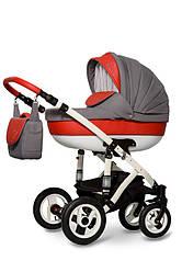 Детская коляска универсальная 2 в 1 Ammi Ajax Group Pearl Lava