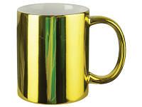 Зеркальная чашка для сублимации Золото