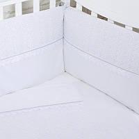 """Комплект постельный в кроватку 6 ед. """"White Ivy""""   Верес™, фото 1"""