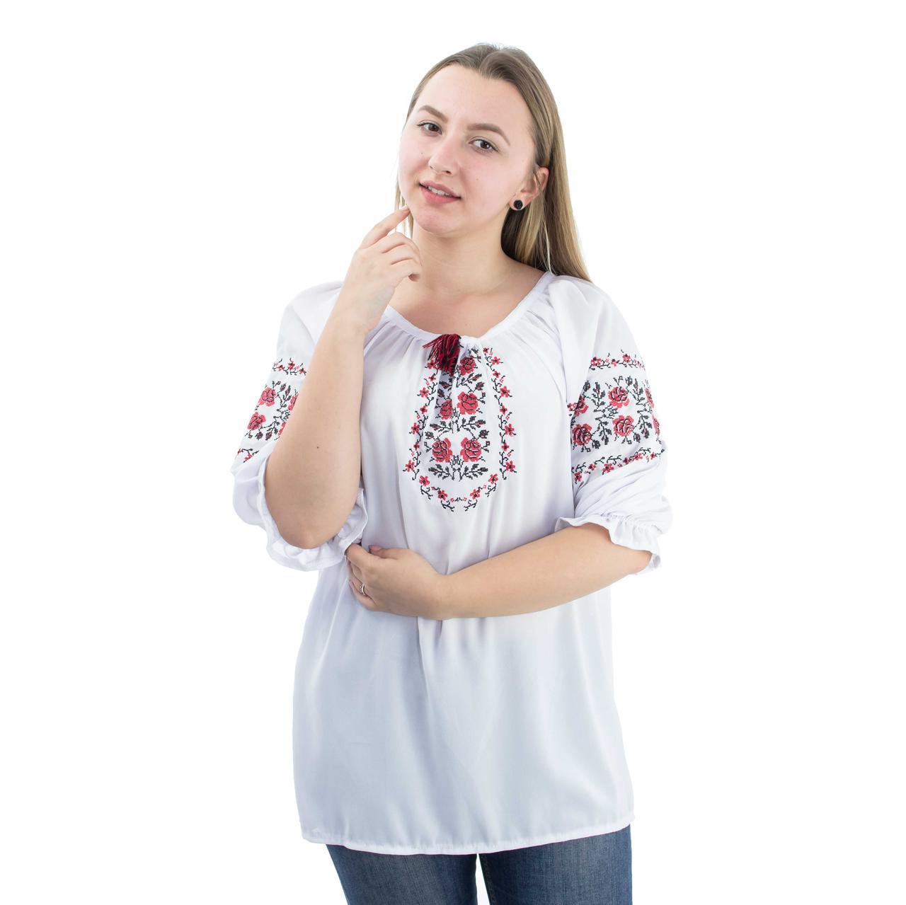 Вышиванки женские на шифоне