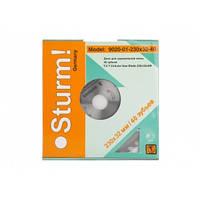 9020-01-230x32-40 Диск для циркулярной пилы 230x32/25.4/22x40з STURM