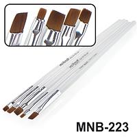 MNB-223 Набор кисточек для ногтевого дизайна из 5 кисточек