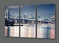 Модульная картина Мост 70*90 см