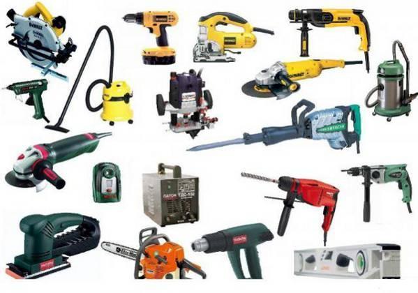 Электро-бензо инструменты, запчасти и комплектующие