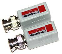 Приемопередатчик Green Vision, по витой паре, пассивный, одноканальный, до 300 м, комплект из 2-ух шт (GV-01P-02)