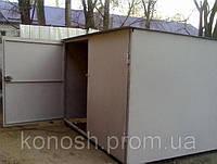 Ремонт крыши металлического гаража Киев