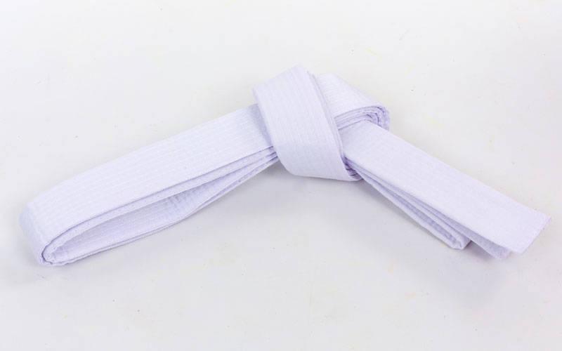 Пояс для кимоно белый Champion
