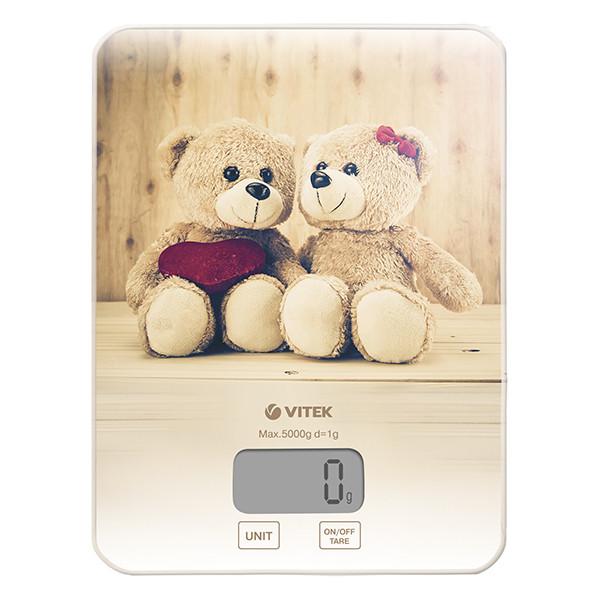Весы кухонные Vitek VT-8025  (электронные весы)