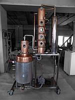 Апарат для промислової дистилляції алкоголю 130л
