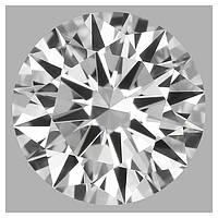 Бриллиант натуральный природный 0,33 кт GIA
