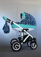 Детская коляска универсальная 2 в 1 Ammi Ajax Group Pearl Amazon
