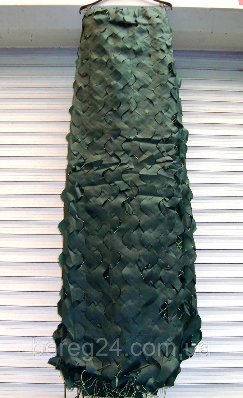 Маскировочная сетка 3х3 м Deco темно-зеленая