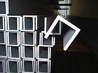 Алюминиевый швеллер 31x13x1,5