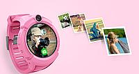 Детские умные GPS часы Smart Baby Watch Q360  с камерой и фонариком
