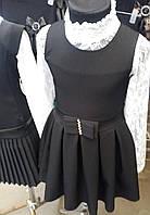 Школьные сарафаны для девочек 1-5 классы,S982