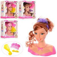 Кукла-манекен голова для причесок 2312-3-5