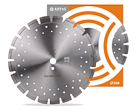 Алмазный диск ADTnS 1A1RSS/C1-W 350x3,2/2,2x10x25,4-21 F4 CLG 350/25,4 RH