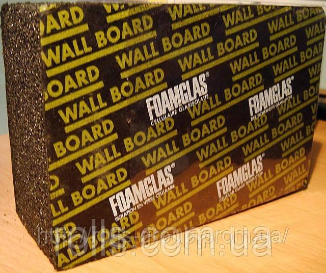 Foamglas Wall Board пеностекло для «мокрых фасадов», размер плиты 1200х600х50мм