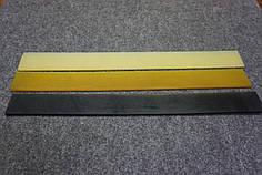 Полиуретановый рубец (косячок) EXTRA LUX 360*37 мм. цвет в ассорт.