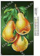 Схема для вышивания бисером DANA Вкусные груши 2141