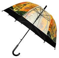 Зонт Для подростка трость полуавтомат Париж 18-3121-1