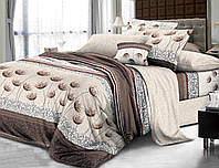 Комплект постельного белья двуспальный, поплин 100% хлопок. Постільна білизна. (арт.7781)
