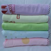 Детская велюровая простынь, пледик, одеяло 110*110см