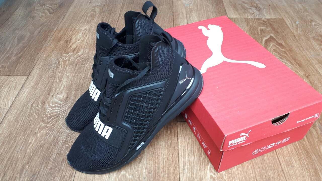 a9aba1e7 В кроссовках PUMA IGNITE тренируется Усэйн Болт – самый быстрый человек в  мире! Верх: сетка с пластиковыми вставками, подошва: амортизирующая пена  IGNITE ...