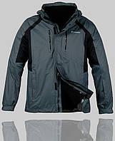 Мужская зимняя куртка Columbia 4234 Тёмно-серая