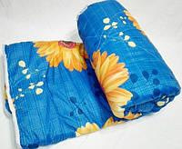 Купить Одеяло стеганое полуторное на овчине(ткань поликатон), фото 1