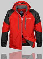 Мужская зимняя куртка Columbia 4236 Красная