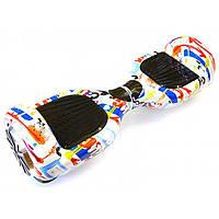 "Гироборд гироскутер Smart Balance Wheel Simple EL3 Граффити 8"" +баланс +сумка +пульт Гарантия!"
