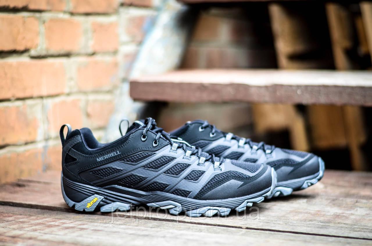 Ботинки мужские Merrell Moab FST J36927 - JET PR® - мужская и женская обувь 8f1efc95cbe37