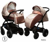 Детская коляска универсальная 2 в 1 Ammi Ajax Group Viola Mokko