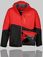 Мужская зимняя куртка Columbia 4239 Красная