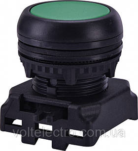 Кнопка-модуль утоплена EGF-R без фіксації, зелена
